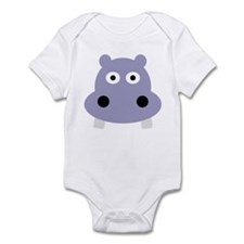 hippo head Infant Bodysuit