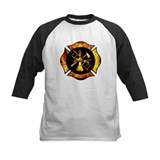 Flaming Maltese Cross Tee