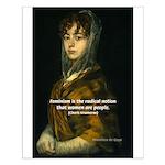 Goya Portrait of Lady: Radical Feminism