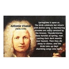 Classical Music: Vivaldi Postcards (Package of 8)