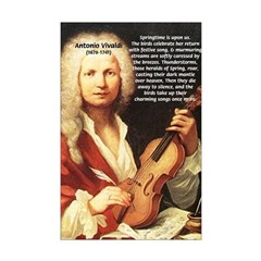 Antonio Vivaldi Four Seasons Opera Music Posters