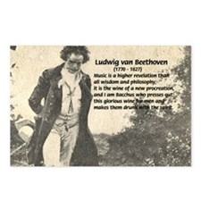 Ludwig van Beethoven Postcards (Package of 8)