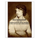 Inspiring Woman: Mary Wollstonecraft Poster