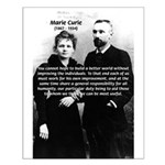 Scientist Marie Curie: Improvement of Individual