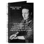 Simone De Beauvoir Journal