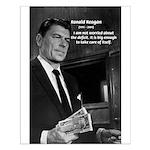 Ronald Reagan: Political Humor: The Big Deficit
