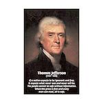 Thomas Jefferson: Free Media Mini Posters