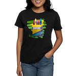 Crayons Women's Dark T-Shirt