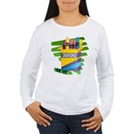 Crayons Women's Long Sleeve T-Shirt