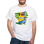 Crayons White T-Shirt