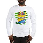 Crayons Long Sleeve T-Shirt