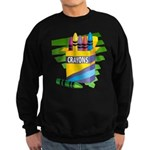 Crayons Sweatshirt (dark)