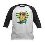 Crayons Kids Baseball Jersey