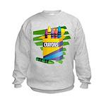 Crayons Kids Sweatshirt