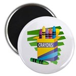 Crayons Magnet