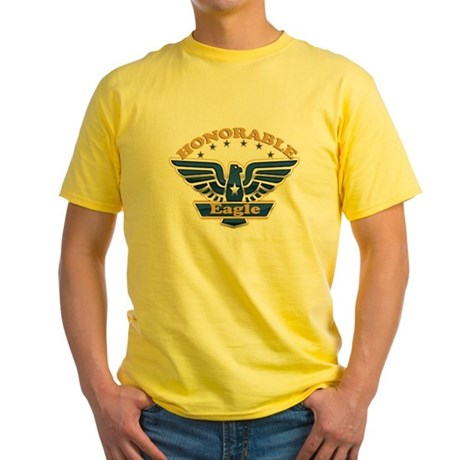 HONORABLE EAGLE Yellow T-Shirt