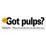 TPN Got Pulps? Bumper Bumper Sticker