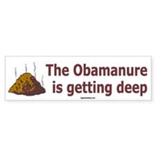 Obamanure Bumper Sticker (50 pk)