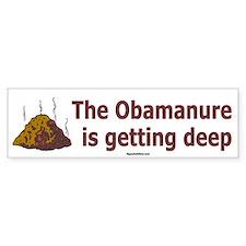 Obamanure Bumper Bumper Sticker