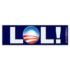 LOL Obama Bumper Sticker (10 pk)