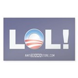 LOL Obama Rectangle Sticker 50 pk)