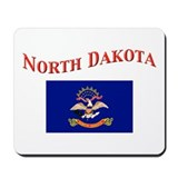 North Dakota State Flag Mousepad