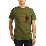 Exciting 76th Organic Men's T-Shirt (dark)