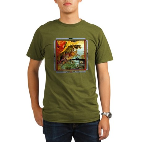 Demonic Illustration Organic Men's T-Shirt (dark)