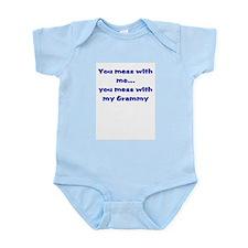 My Grammy Blue Infant Bodysuit