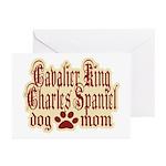 Cavalier King Charles Spaniel Greeting Cards (Pk o