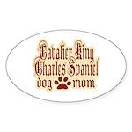 Cavalier King Charles Spaniel Sticker (Oval 50 pk)