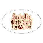 Cavalier King Charles Spaniel Sticker (Oval)
