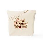 Great Pyrenees Mom Tote Bag