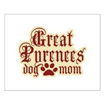 Great Pyrenees Mom Small Poster