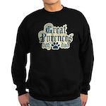 Great Pyrenees Dad Sweatshirt (dark)