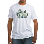 Great Pyrenees Dad Fitted T-Shirt