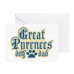 Great Pyrenees Dad Greeting Card