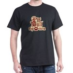 Pit Bull Mom Dark T-Shirt