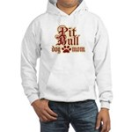 Pit Bull Mom Hooded Sweatshirt