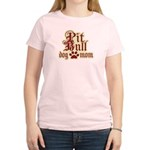 Pit Bull Mom Women's Light T-Shirt