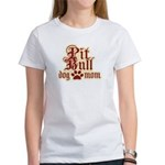 Pit Bull Mom Women's T-Shirt