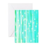 Lucky Colorful Bamboo Greeting Cards (Pk of 10)