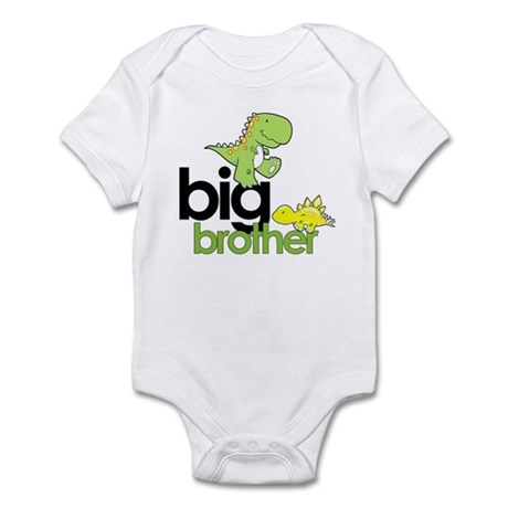 big brother t-shirt dinosaur Infant Bodysuit