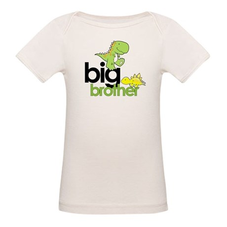 big brother t-shirt dinosaur Organic Baby T-Shirt