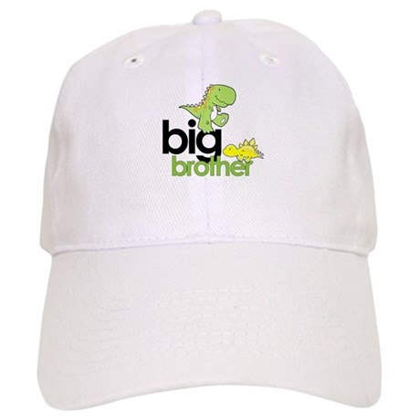 big brother t-shirt dinosaur Cap