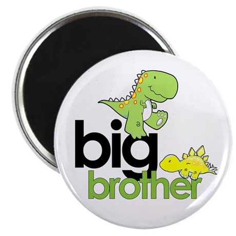big brother t-shirt dinosaur Magnet