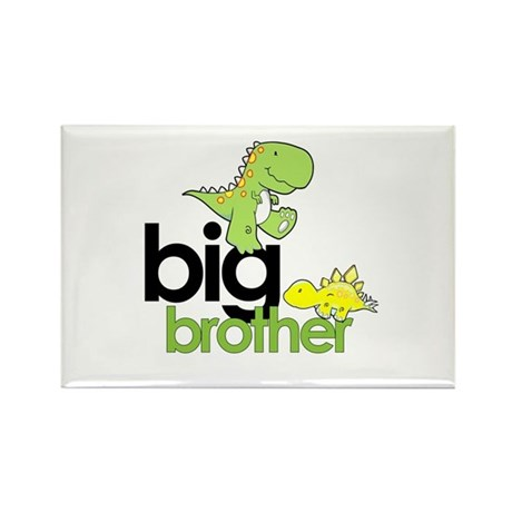 big brother t-shirt dinosaur Rectangle Magnet