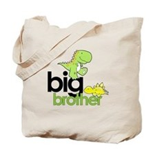 big brother t-shirt dinosaur Tote Bag