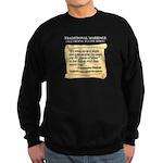 Traditional Marriage Sweatshirt (dark)