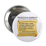 """Traditional Marriage 2.25"""" Button (10 pack)"""
